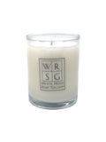 3.5 oz Votive Glass Soy Candle - White Rock Soap Gallery