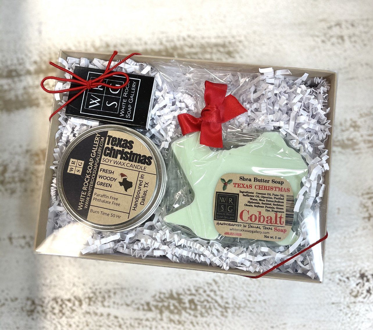 Texas Christmas Gift Set