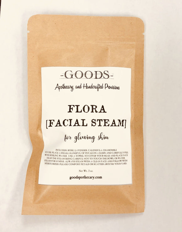 Goods Apothecary Flora Facial Steam