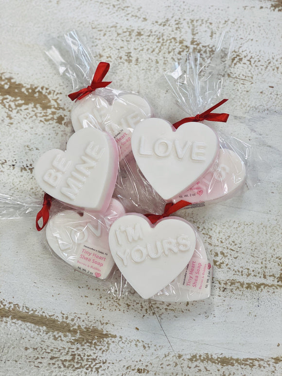 Tiny Heart Shea Soap
