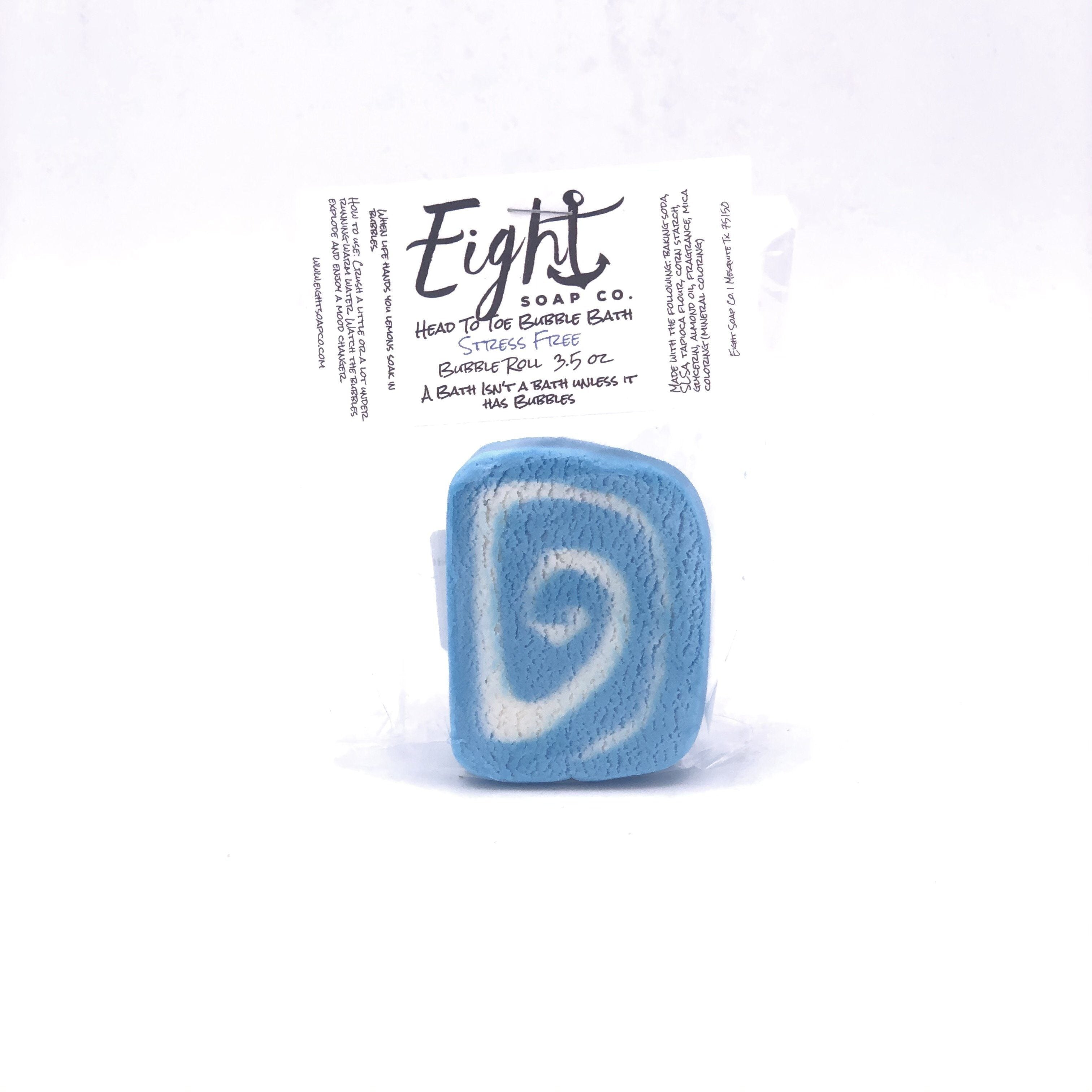Eight Soap Co. Stress Free Bubble Bar