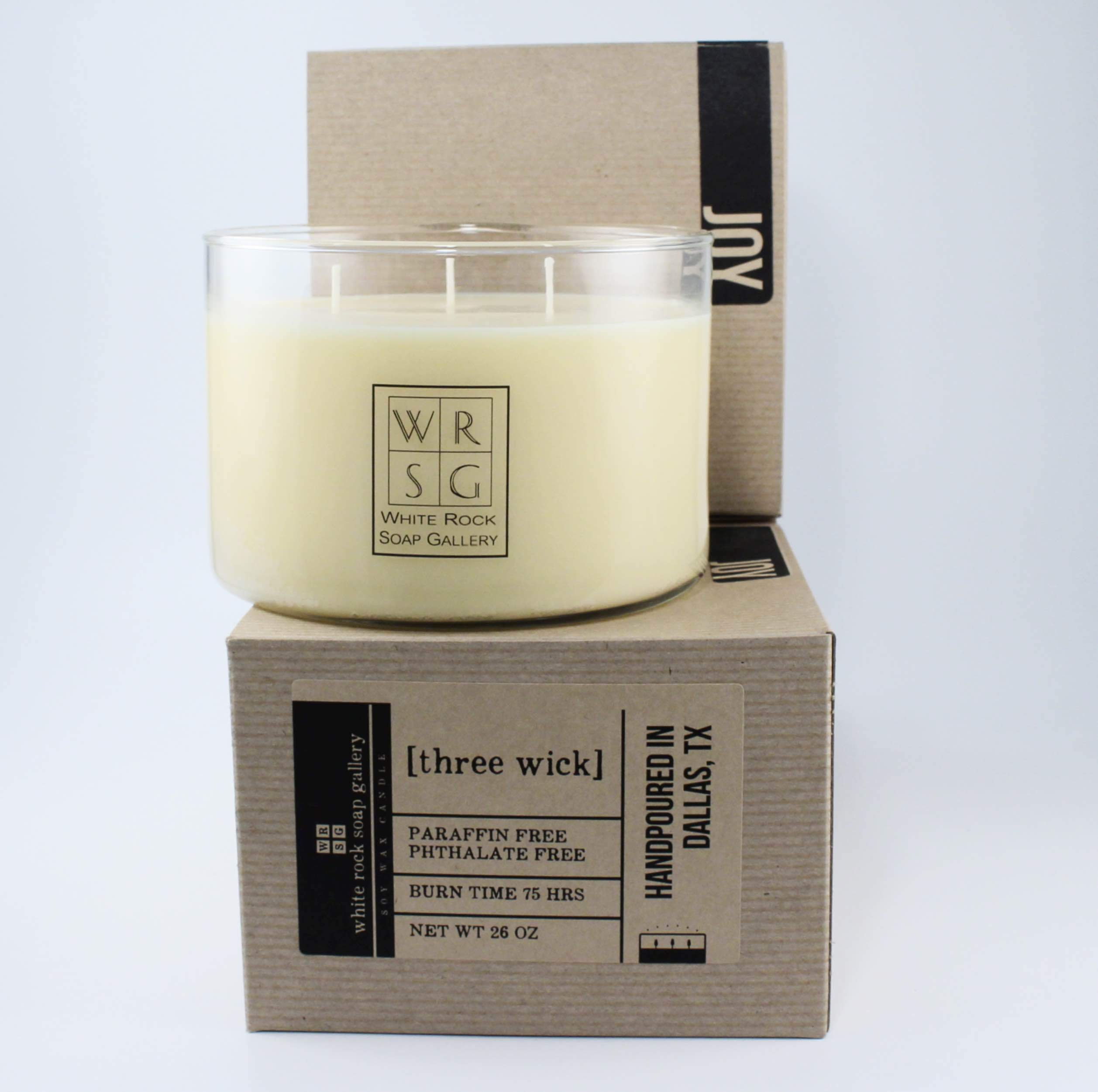 Three Wick Soy Wax Candle