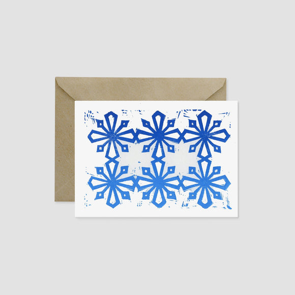 Wandering Paper Co. A7 Kirigami Snowflake Card