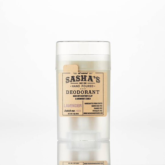 Sasha's Hand Poured Lemongrass Deodorant