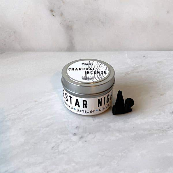 Sawdust & Embers Lonestar Nights Charcoal Incense