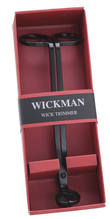 Wickman Matte Black Steel Wick Trimmer with Wick Catcher and Gift Box