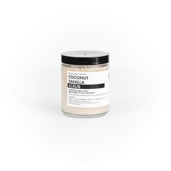 Moon Rivers Naturals Coconut Vanilla Sugar Scrub