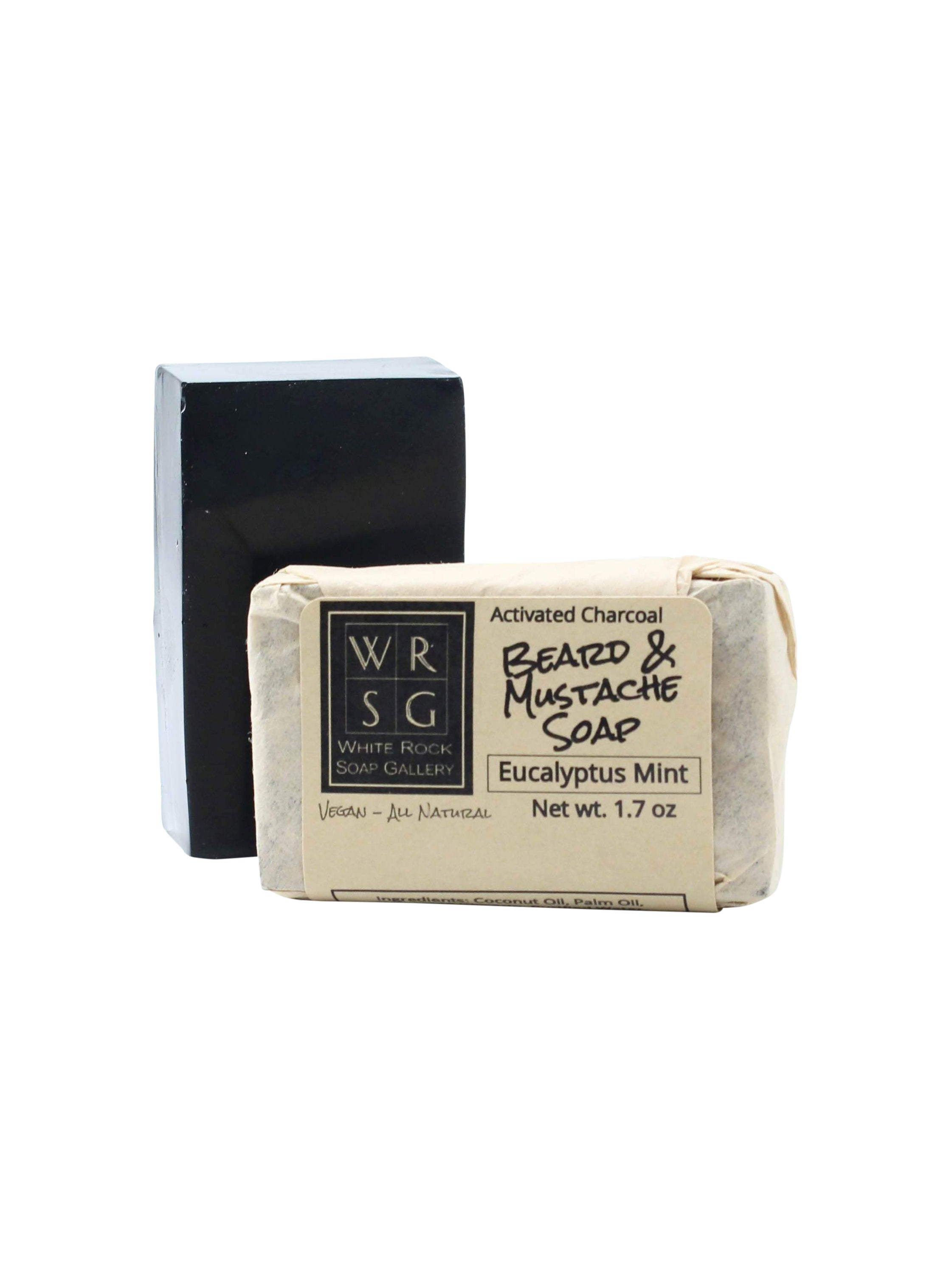 Activated Charcoal Face & Beard Soap Bar
