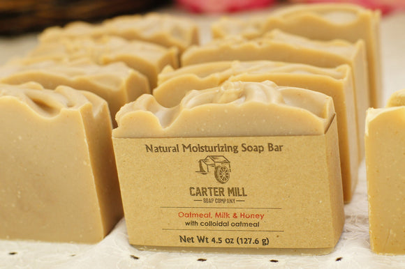 Carter Mill Soap Company Oatmeal, Milk, Honey Soap