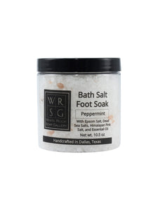 Peppermint Bath Salt Foot Soak