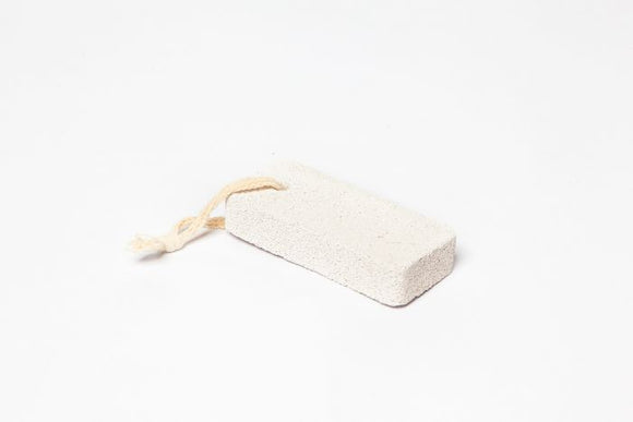 Pumice Stone - Small Square on Rope