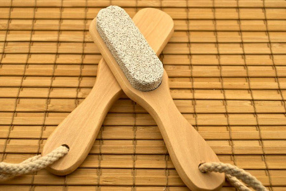 Pumice Handle - White Rock Soap Gallery
