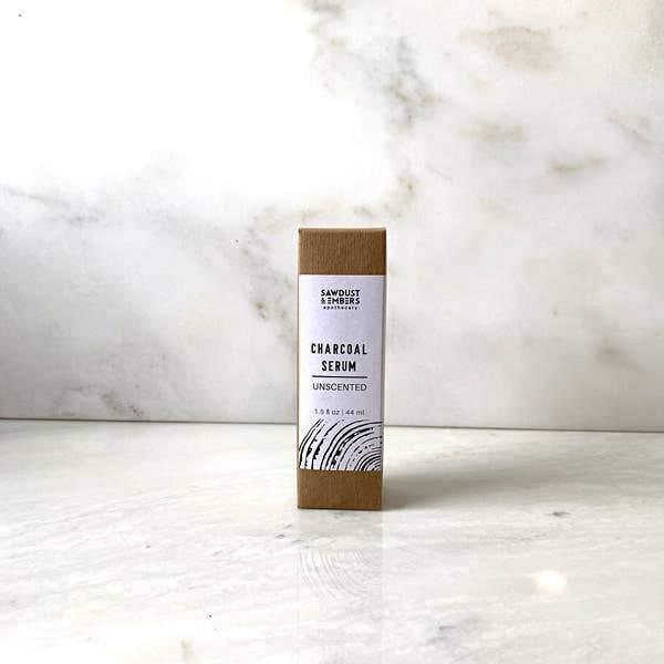 Sawdust & Embers Unscented Charcoal Beard Serum