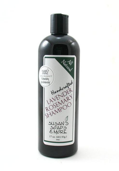 Susan's Soaps Liquid Shampoo - White Rock Soap Gallery