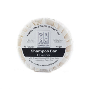 Coconut Milk Shampoo Bar - White Rock Soap Gallery
