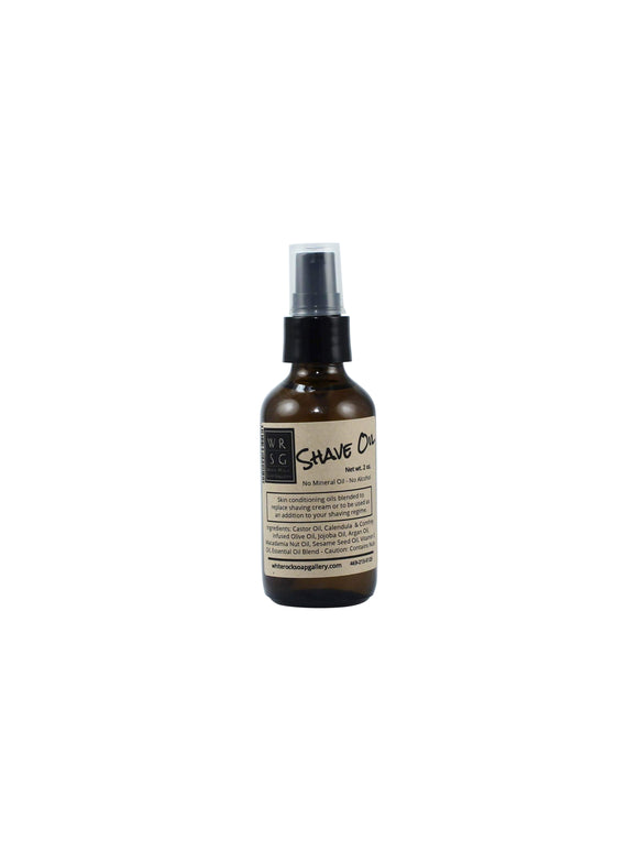 All Natural Shave Oil