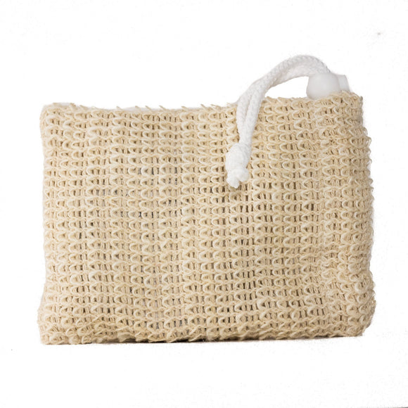 Sisal Soap Pouch - White Rock Soap Gallery