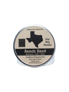 Soy Wax Candle Texas 16 oz. Tin