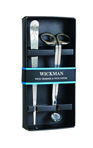 Wickman Wick Trimmer & Wick Dipper Set in Gift Box