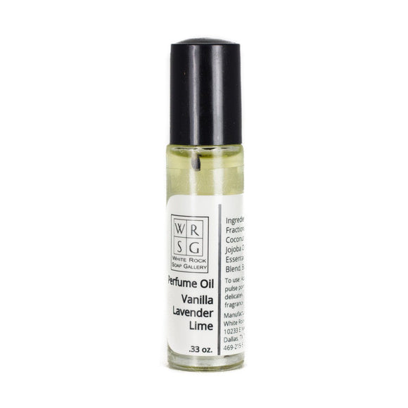 Roller Ball Essential Oil Fragrance - White Rock Soap Gallery
