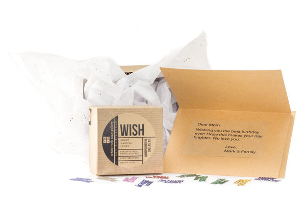 Wish Candle - White Rock Soap Gallery