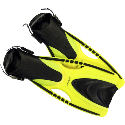 Yellow Freedom Snorkelling Fins by Beaver