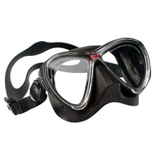 Load image into Gallery viewer, Hollis M3 Diving Mask Black