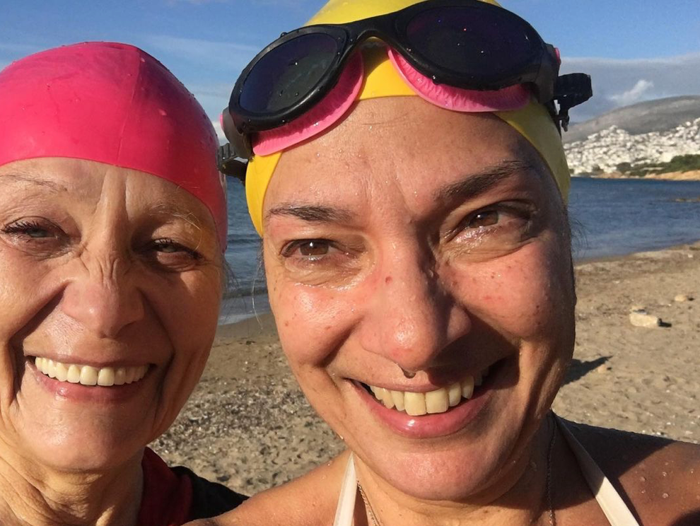 Diane K Reboots 2021 with Cold Water Swimming