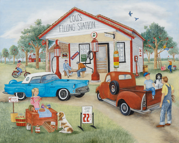 Lou's Filling Station