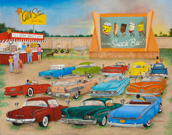 1950's Drive In Theater