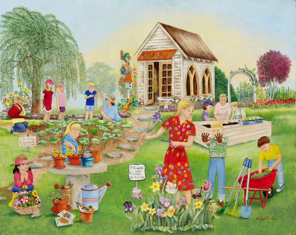Children's Garden Shed