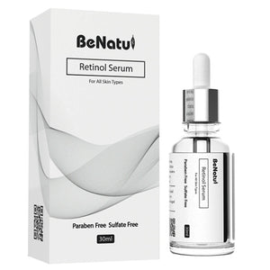Anti Ageing Facial Serum 3-Pack - Vitamin C Serum, Retinol Serum, Hyaluronic Acid Serum