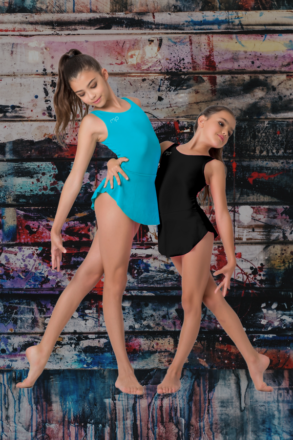 Black Plié Leotard