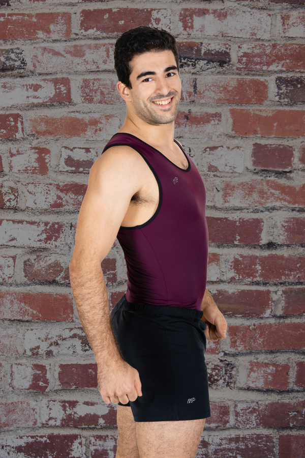 Bordeaux Aerial Leotard