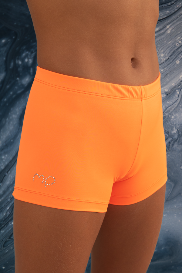Live Orange Twist Shorts