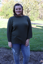 She's a Joy Knit Blouse Plus Top