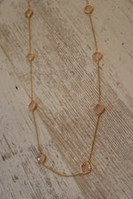 Katherine Rose Stone Necklace