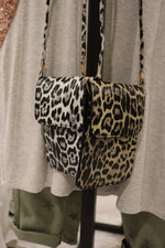 Leopard Print Cell Phone & Wallet Purse