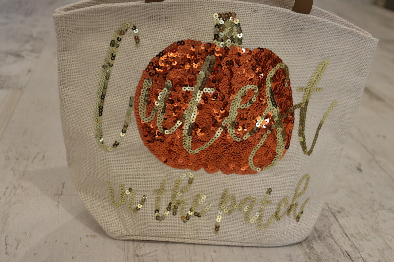 Cutest in the Pumpkin Patch Canvas Tote Bag