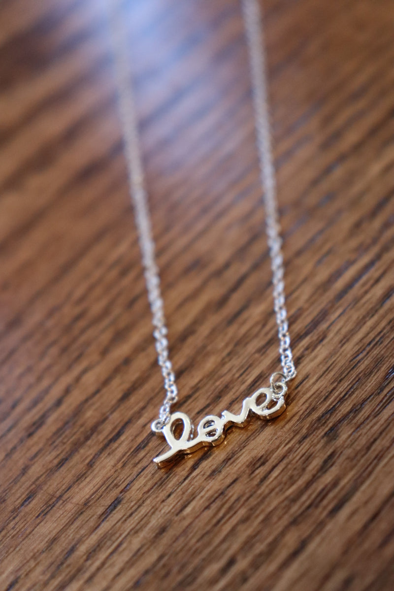 Yareli Love Necklace