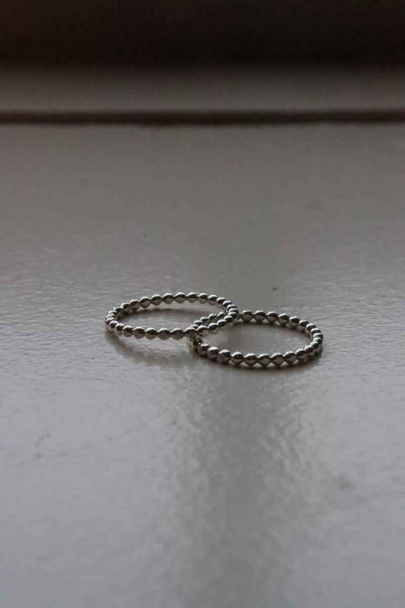 Avery Silver Dot Ring