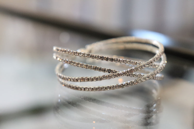 Sparkle Rhinestone Bangle Bracelets