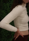 Cozy Mock Neck Crop Sweater