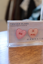Valentine's Day Heart Magnets