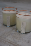 Cinnamon Spice Copper-Rimmed Candle