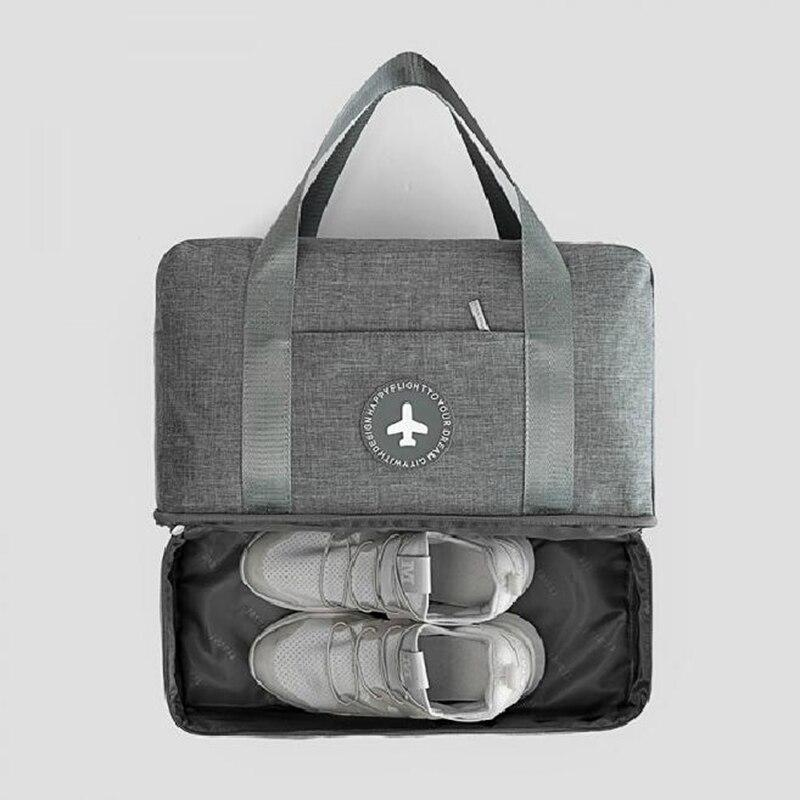 🧳 2 in 1 Duffle Gym Bag with Shoe compartment