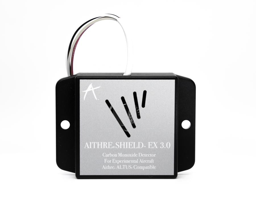 Aithre Shield EX 3.0 Behind-Panel Carbon Monoxide Detector - Altus/Illyrian Compatible - With iOS App