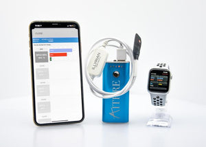Aithre Illyrian Smart Oximeter - With iOS App - White