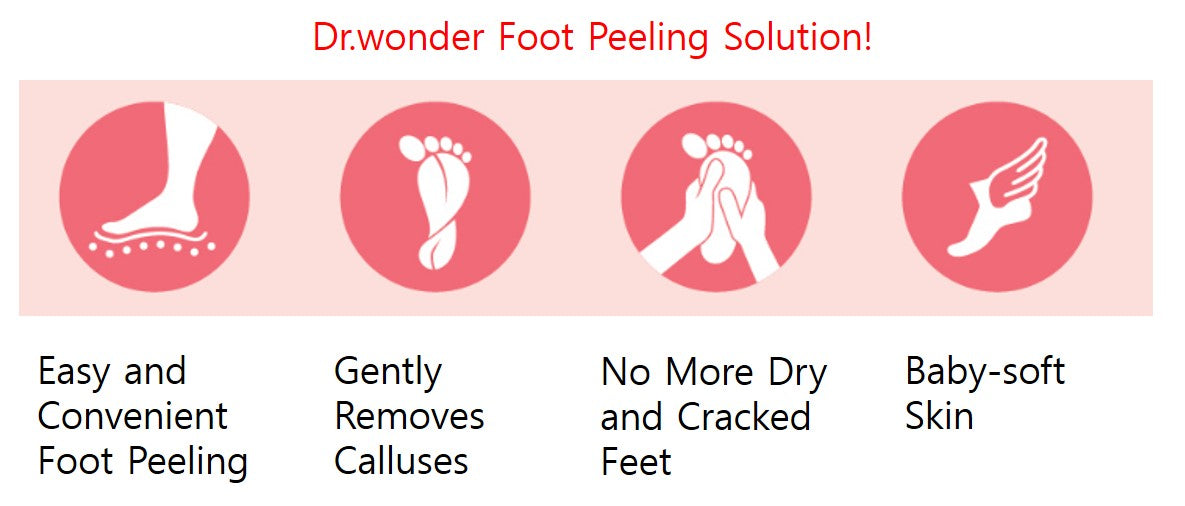 foot peeling mask at orion beauty