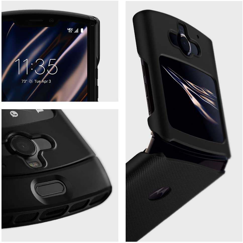 Spigen Motorola Razr (2020) Case Thin Fit Black ACS00666